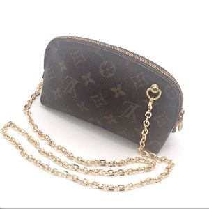 Louis Vuitton Pouch Clutch Crossbody Strap